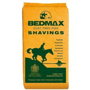 Bedmax Horse Bedding Dust Free Pine Shavings - 18kg