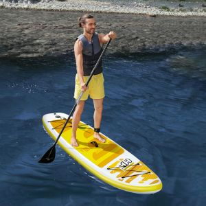 Bestway Hydro-Force Aqua Cruise Tech Inflatable Stand Up Paddle Board – 10ft