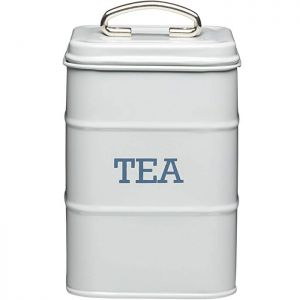 KitchenCraft 'Living Nostalgia' Tea Canister - Grey
