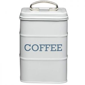 KitchenCraft 'Living Nostalgia' Coffee Canister - Grey