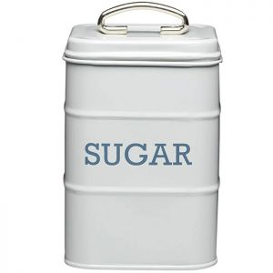 KitchenCraft 'Living Nostalgia' Sugar Canister - Grey