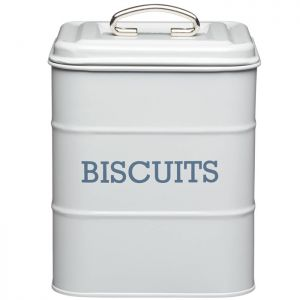 KitchenCraft 'Living Nostalgia' Vintage Biscuit Tin - Grey