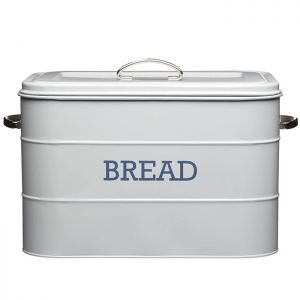 KitchenCraft 'Living Nostalgia' Vintage Bread Bin - Grey