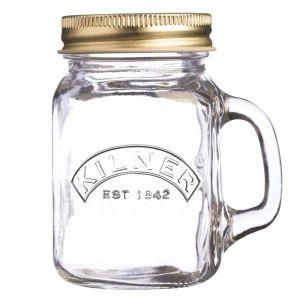 Kilner Mini Drinking Jar with Handle - 140ml