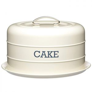 KitchenCraft 'Living Nostalgia' Cake Tin - Cream