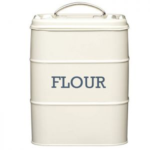 KitchenCraft 'Living Nostalgia' Flour Canister - Cream