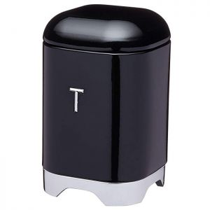 KitchenCraft Lovello Tea Canister - Black