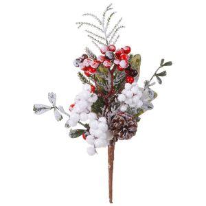 Kaemingk Mixed Snowy Berry Pick