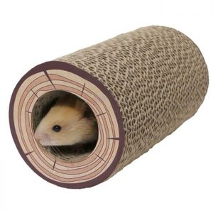 Boredom Breaker Shred-A-Log Corrugated Tunnel