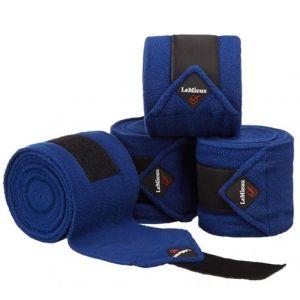 Le Mieux Luxury Polo Bandages Set of 4 - Blue