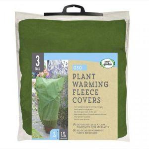 Smart Garden Plant Fleece Cover - 3 Pack, 2m x 1.5m