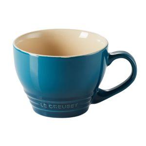 Le Creuset Stoneware Grand Mug, 400ml - Deep Teal