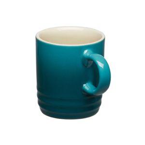 Le Creuset Stoneware Espresso Mug, 100ml - Deep Teal