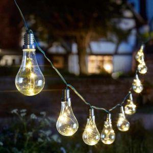Smart Solar Lightbulb String Light