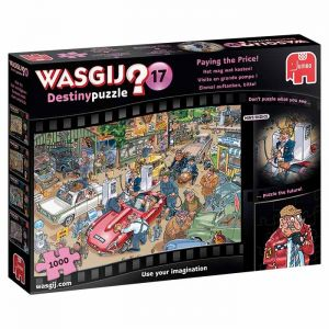 Wasgij Paying the Price Jigsaw Puzzle - 1000 Pieces