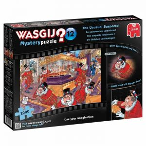Wasgij The Unusual Suspects Jigsaw Puzzle - 1000 Pieces