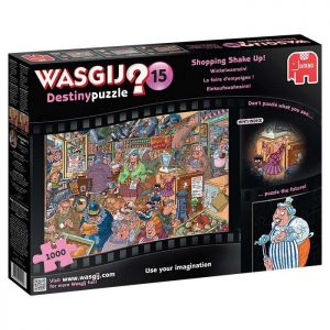 Wasgij Shopping Shake Up Jigsaw Puzzle - 1000 Pieces