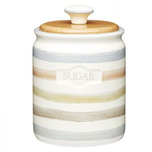 KitchenCraft Sugar Canister - Classic Striped
