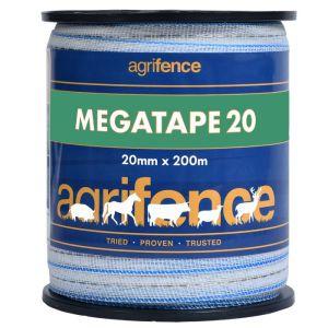 Agrifence Megatape 20 Reinforced Tape - 20mm x 200m
