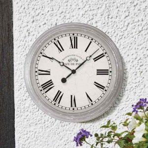 Smart Garden Outside In Biarritz Wall Clock