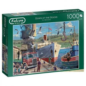Down at the Docks Jigsaw Puzzle - 1000 Pieces