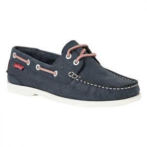 Chatham Willow Deck Shoes - Navy/Pink