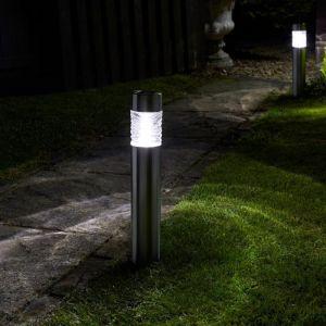 Smart Solar Wave Bollard Light