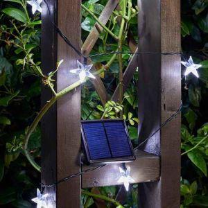 Smart Solar String Lights - 25 Stars