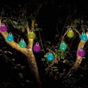 Smart Solar Crackle String Lights 10 LEDs