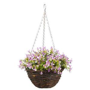 Smart Garden Basket Lilac Lobelia - 25cm