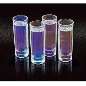 KitchenCraft Iridescent Shot Glasses - Pack of 4