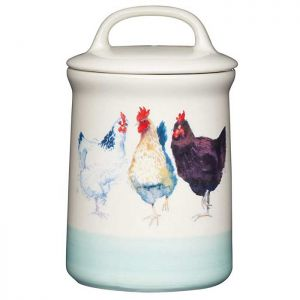 KitchenCraft Tea Canister - Apple Farm