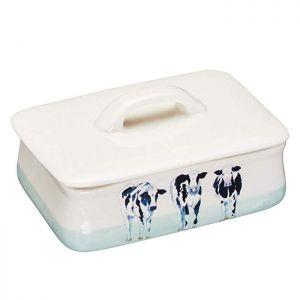 KitchenCraft Butter Dish - Apple Farm