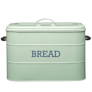 KitchenCraft 'Living Nostalgia' Bread Bin - Green