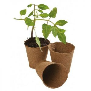 Garland Round 6cm Fibre Pot - Pack of 96