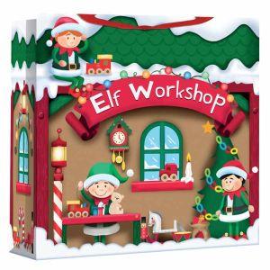 Christmas Elf Workshop Jumbo Gift Bag