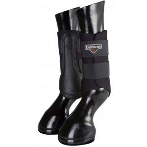 LeMieux Grafter Brushing Boots, Set of 2 - Black