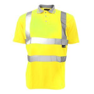 Warrior Hi-Vis Polo Shirt - Yellow