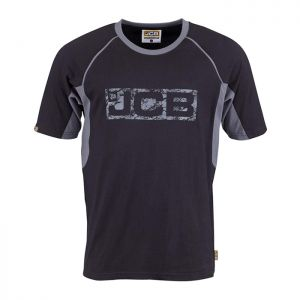 JCB Trade T-Shirt - Black/Grey