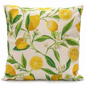 LG Outdoor Scatter Cushion – Lemon Tree