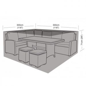 Garland Square Casual Dining Set Cover - Large