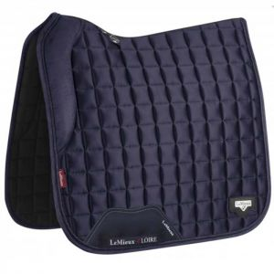 LeMieux Loire Dressage Square Navy - Large