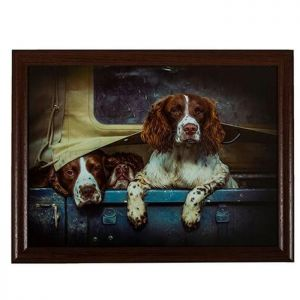 Country Matters Lap Tray - Spaniels in Landy