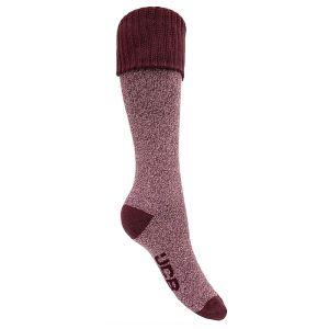 JCB Welly Socks - Burgundy