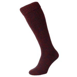 HJ Hall Wellington Boot Sock - Red