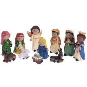 Koopman Nativity Scene Figures - Set of 11