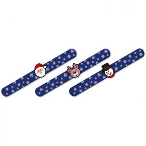 Christmas Slap Bands - Assorted