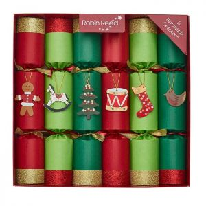 Robin Reed Toy Chest Christmas Crackers - Pack of 6