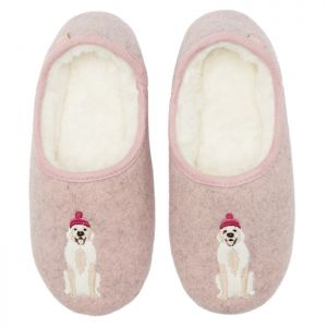 Joules Slippers - Dog