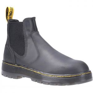 Dr Martens Unisex Eaves Elasticated Safety Boots - Black